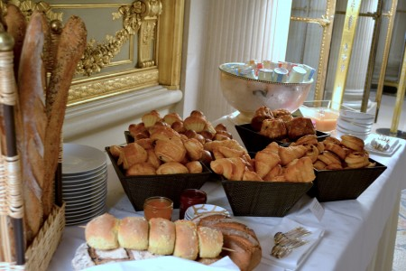 brunch meurice viennoiseries