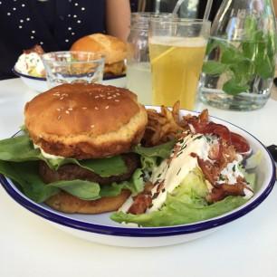 JulieZwing PNY burger gluten free