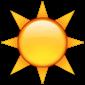 emoji soleil
