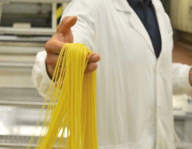 barilla usine de pâtes spaghetti
