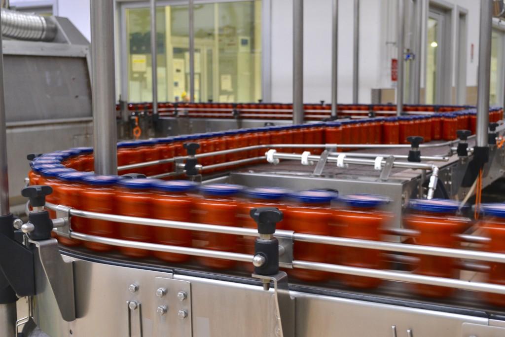 barilla usine de sauces