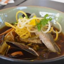 hotel de l'image restaurant poisson
